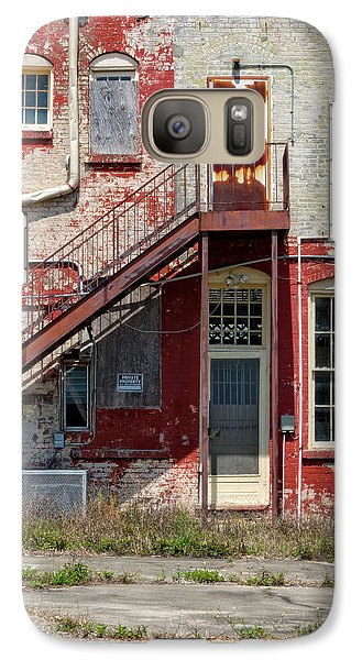 Galaxy Case featuring the photograph Over Under The Stairs by Christopher Holmes