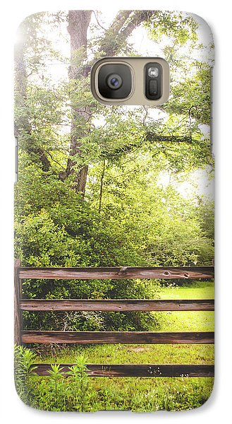 Galaxy Case featuring the photograph Overgrown by Shelby Young