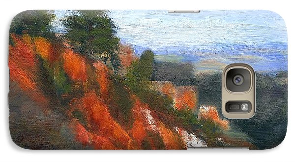 Galaxy Case featuring the painting Overlook by Gail Kirtz