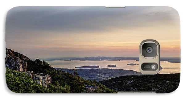 Galaxy Case featuring the photograph Overlooking Bar Harbor by Gary Smith