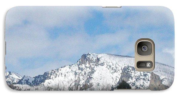 Galaxy Case featuring the photograph Overlooking Blodgett by Jewel Hengen