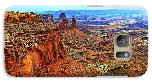 Galaxy Case featuring the photograph Overlooking Canyonlands National Park    Moab Utah by Gary Baird