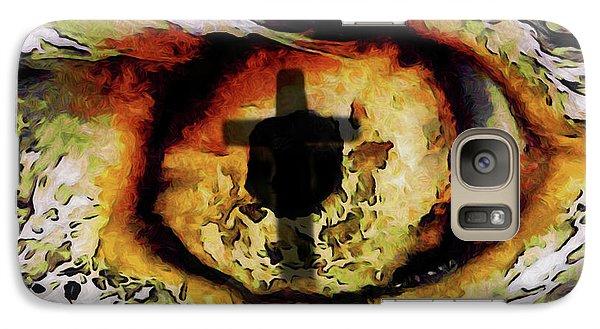 Galaxy Case featuring the digital art Overwhelmed Remember Him by Ernie Echols