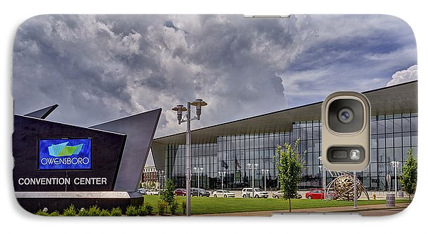 Galaxy Case featuring the photograph Owensboro Kentucky Convention Center by Wendell Thompson