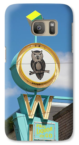 Galaxy Case featuring the photograph Owl by Matthew Bamberg