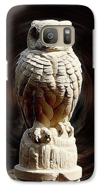 Galaxy Case featuring the digital art Owl by Terry Cork