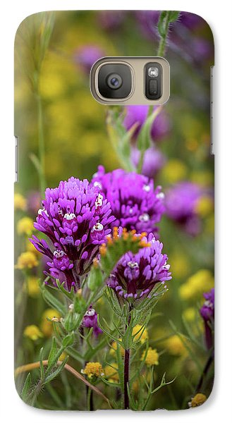 Galaxy Case featuring the photograph Owl's Clover by Peter Tellone