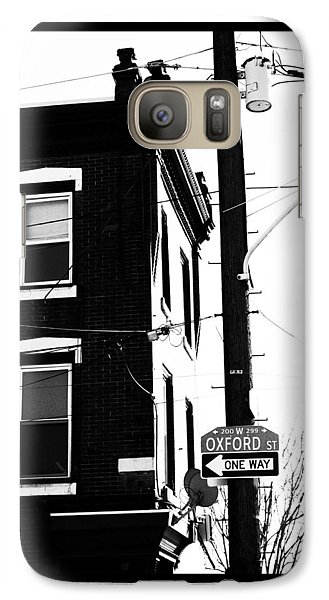 Galaxy Case featuring the photograph Oxford St by Christopher Woods