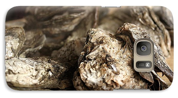 Galaxy Case featuring the photograph Oyster Roast by Greg Simmons
