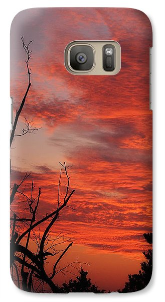 Galaxy Case featuring the photograph Ozark Dawn by Michael Dougherty