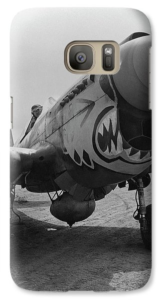 Tiger Galaxy S7 Case - P-40 Warhawk - Flying Tiger by War Is Hell Store