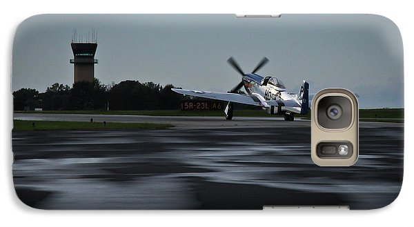 Galaxy Case featuring the photograph P-51  by Douglas Stucky