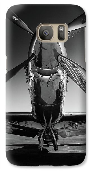 Transportation Galaxy S7 Case - P-51 Mustang by John Hamlon