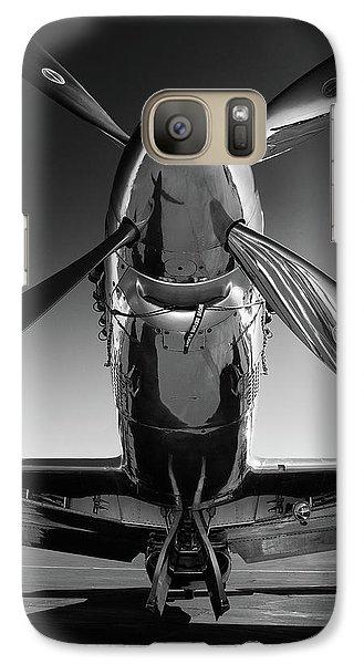 Airplanes Galaxy S7 Case - P-51 Mustang by John Hamlon