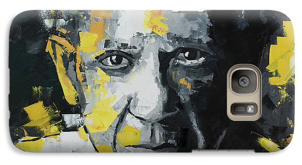 Galaxy Case featuring the painting Pablo Picasso Portrait by Richard Day