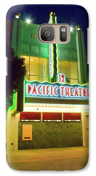 Galaxy Case featuring the photograph Pacific Theater - Culver City by Chuck Staley