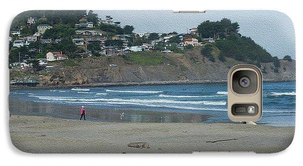 Galaxy Case featuring the photograph Pacifica California by David Bearden