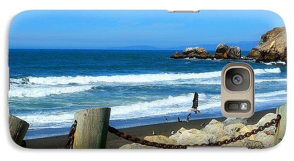 Galaxy Case featuring the photograph Pacifica Coast by Glenn McCarthy Art and Photography