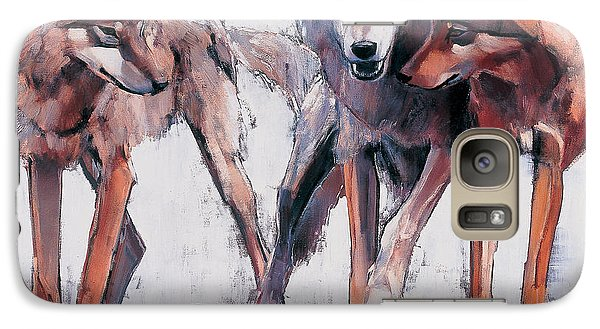Pack Leaders Galaxy Case by Mark Adlington