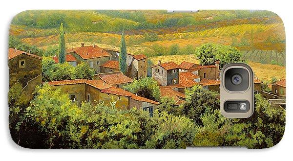 Landscapes Galaxy S7 Case - Paesaggio Toscano by Guido Borelli