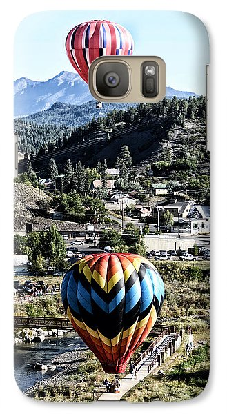 Galaxy Case featuring the photograph Pagosa Springs Colorfest 2015 by Kevin Munro