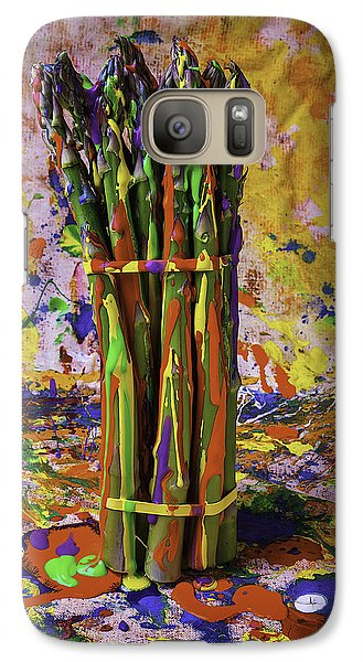 Painted Asparagus Galaxy S7 Case
