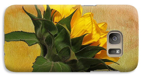 Galaxy Case featuring the photograph Painted Golden Beauty by Judy Vincent