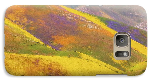 Galaxy Case featuring the photograph Painted Hills by Marc Crumpler
