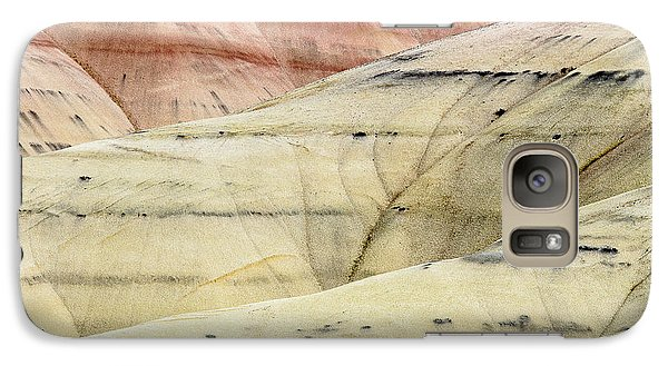 Galaxy Case featuring the photograph Painted Hills Ridge by Greg Nyquist