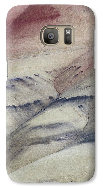 Galaxy Case featuring the photograph Painted Hills Textures 2 by Leland D Howard