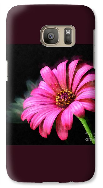 Galaxy Case featuring the painting Painted Pink by Elizabeth Coats
