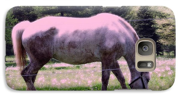 Galaxy Case featuring the photograph Painted Pony by Susan Carella