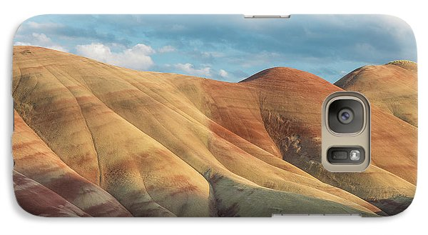 Galaxy Case featuring the photograph Painted Ridge And Sky by Greg Nyquist
