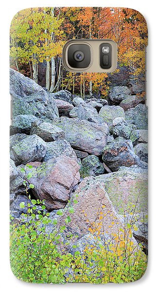 Galaxy Case featuring the photograph Painted Rocks by David Chandler