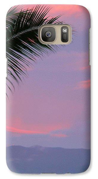 Galaxy Case featuring the photograph Painted Sky by Debbie Karnes