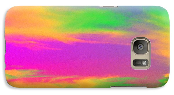 Galaxy Case featuring the photograph Painted Sky by Linda Hollis