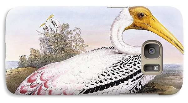 Painted Stork Galaxy S7 Case by John Gould