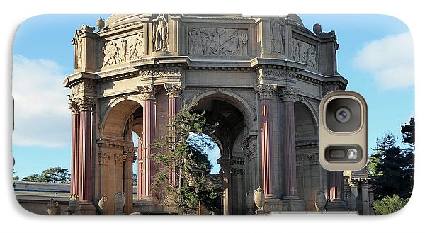 Galaxy Case featuring the photograph Palace Of Fine Arts by Steven Spak