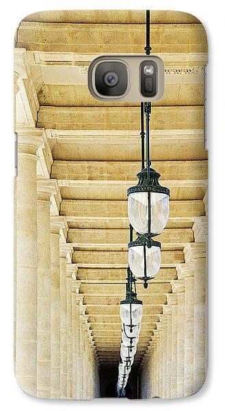 Galaxy Case featuring the photograph Palais-royal Arcade - Paris, France by Melanie Alexandra Price