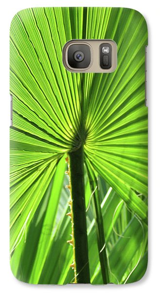 Galaxy Case featuring the photograph Palm Frond by Bonnie Muir