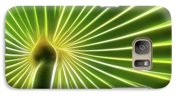 Palm Glow Galaxy S7 Case