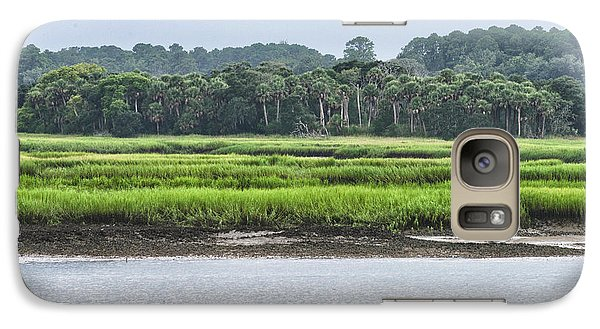 Galaxy Case featuring the photograph Palm Island by Margaret Palmer