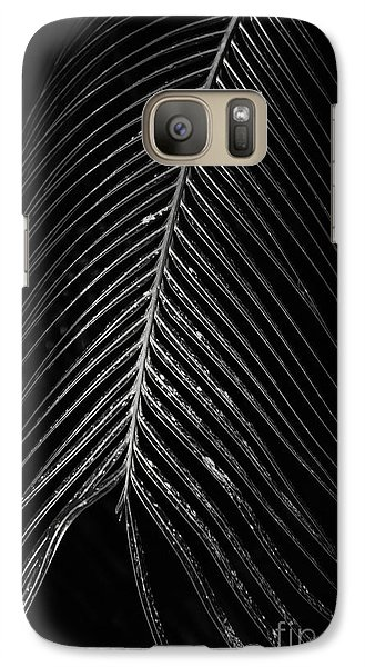Galaxy Case featuring the photograph Palm Leaf by Deborah Benoit