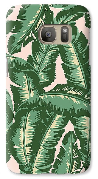 Fruits Galaxy S7 Case - Palm Print by Lauren Amelia Hughes