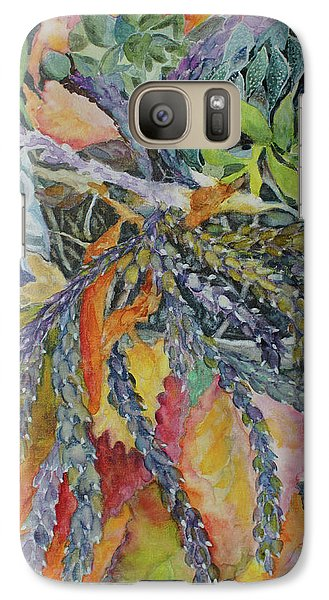 Galaxy Case featuring the painting Palm Springs Cacti Garden by Joanne Smoley