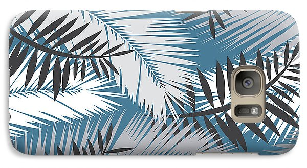 Palm Trees 10 Galaxy Case by Mark Ashkenazi