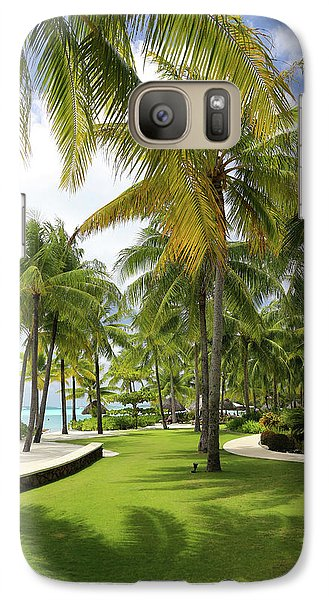 Galaxy Case featuring the photograph Palm Trees 2 by Sharon Jones