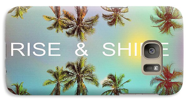 Venice Beach Galaxy S7 Case - Palm Trees by Mark Ashkenazi