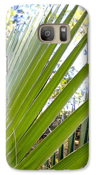 Galaxy Case featuring the painting Palmetto 1 by Renate Nadi Wesley