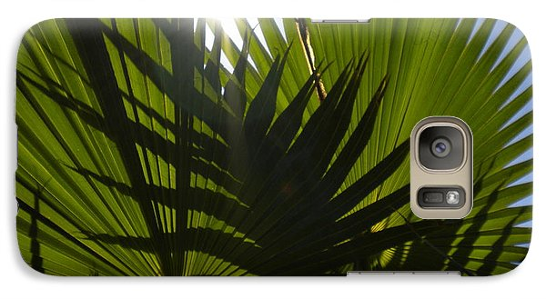 Galaxy Case featuring the photograph Palmetto 3 by Renate Nadi Wesley